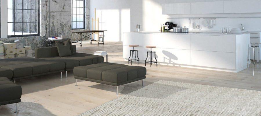 Dywan do wnętrza minimalistycznego
